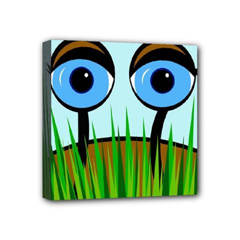 Snail Mini Canvas 4  X 4  by Valentinaart