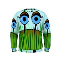 Snail Kids  Sweatshirt by Valentinaart