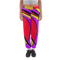 Colorful Lines Women s Jogger Sweatpants by Valentinaart
