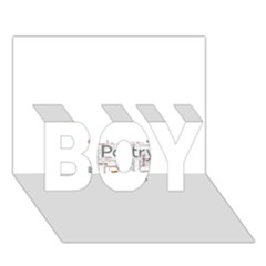 5004610 1817f Boy 3d Greeting Card (7x5) by jpcool1979