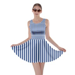 Nautical striped Skater Dress by olgart