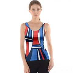 Abstract Nautical Tank Top by olgart
