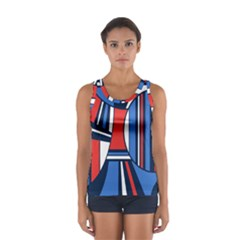 Abstract Nautical Tops by olgart
