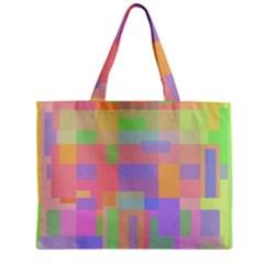 Pastel Decorative Design Zipper Mini Tote Bag by Valentinaart