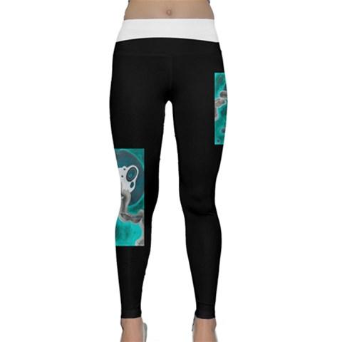 Classic Yoga Leggings Front