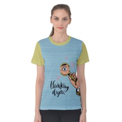 Thinking Of You Women s Cotton Tee by Contest2284792
