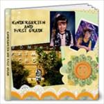Kindergarten - 12x12 Photo Book (20 pages)