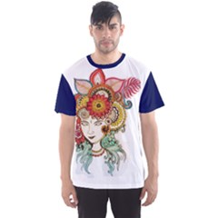 colorful artwork Men s Sport Mesh Tee by Contest2484531