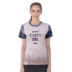 Keep calm and carry on Women s Cotton Tee by Contest2492990