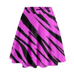 Pink Tiger High Waist Skirt