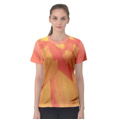 Orange Flower Women s Sport Mesh Tee by Contest2490174