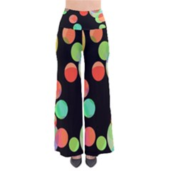 Colorful Circles Pants by Valentinaart