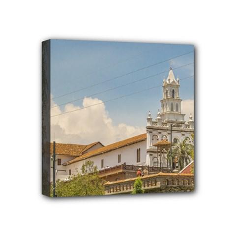 Historic Center Of Cuenca, Ecuador Mini Canvas 4  X 4  by dflcprints