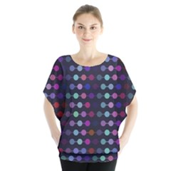 Connected dots           Batwing Chiffon Blouse