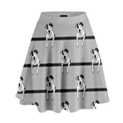 Pit Bull T-Bone High Waist Skirt by ButThePitBull