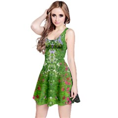 Floral Nature Reversible Sleeveless Dress by olgart
