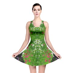 Floral Nature Reversible Skater Dress by olgart