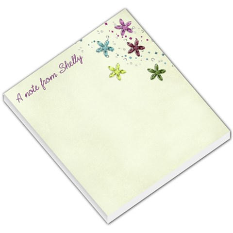 Notes   Shelly By Crystal Teed   Small Memo Pads   Abrl5yr8147t   Www Artscow Com