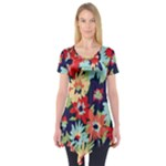 Alexa Floral Short Sleeve Tunic