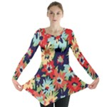 Alexa Floral Long Sleeve Tunic