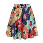 Alexa Floral High Waist Skirt