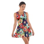 Alexa Floral Cotton Racerback Dress