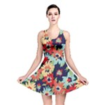 Alexa Floral Reversible Skater Dress
