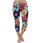 Alexa Floral Capri Winter Leggings