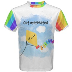 Rainbow Kite Men s Cotton Tee by Contest2490563