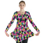 Kate Tribal Abstract Long Sleeve Tunic
