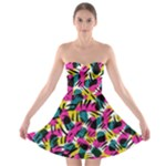 Kate Tribal Abstract Strapless Bra Top Dress