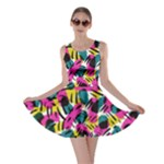 Kate Tribal Abstract Skater Dress