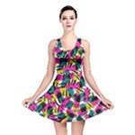 Kate Tribal Abstract Reversible Skater Dress