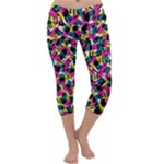 Kate Tribal Abstract Capri Yoga Leggings