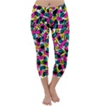 Kate Tribal Abstract Capri Winter Leggings