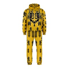 Disco Dancing In The  Tribal Nature  Hooded Jumpsuit (kids) by pepitasart