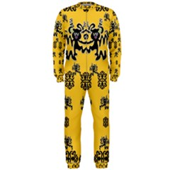 Disco Dancing In The  Tribal Nature  Onepiece Jumpsuit (men)  by pepitasart