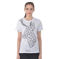 My Passion= Sketch Women s Cotton Tee by Contest2348538