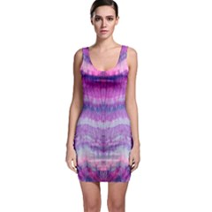 Tie Dye Color Sleeveless Bodycon Dress by olgart