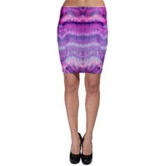 Tie Dye Color Bodycon Skirt by olgart