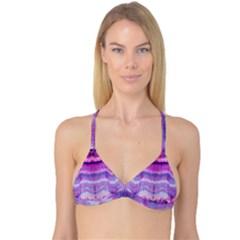 Tie Dye Color Reversible Tri Bikini Top by olgart