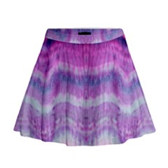 Tie Dye Color Mini Flare Skirt by olgart