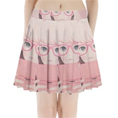 Gamegirl Girl Pleated Mini Mesh Skirt(p209) by kaoruhasegawa