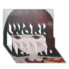 Maplesyrupsyndrome4 0 Work Hard 3d Greeting Card (7x5)  by kaoruhasegawa