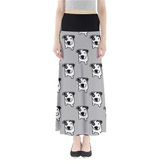 Pit Bull T Bone Graphic  Maxi Skirts