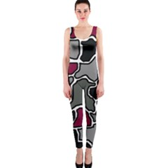 Decorative abstraction OnePiece Catsuit by Valentinaart