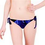 Deep blue abstraction Bikini Bottom