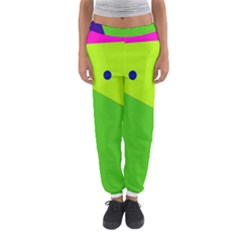 Colorful abstract design Women s Jogger Sweatpants by Valentinaart