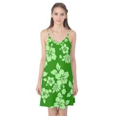 Green Hawaiian Camis Nightgown by AlohaStore
