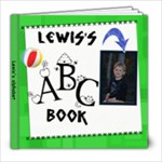ABC name and sound - 8x8 Photo Book (30 pages)